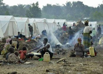 Kyangwali Refugee Settlement camp in Uganda