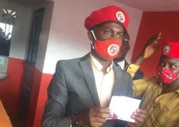 Mwenda bwabadde e Kamwokya nga yesogga ekibiina kya NUP
