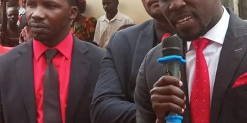 Joel Senyonyi nabavuganya e Lubaga South