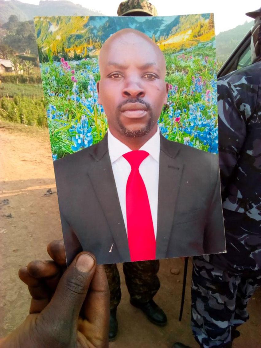 Suspect John Mugisha
