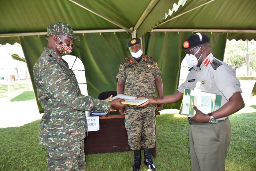 Col Aheebwa Takes Over as UPDF Deputy Chief Political Commissar