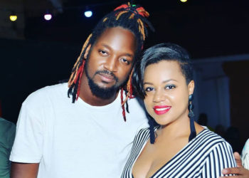 Bebe Cool's wife Zuena with her step son Allan