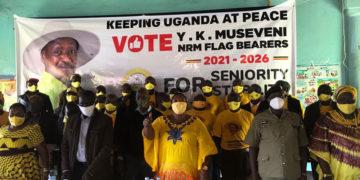 ONC team led by Museveni PA Milly Babalanda