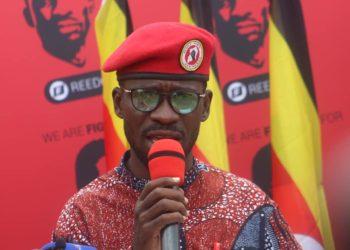 NUP leader Bobi Wine