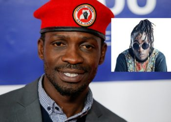 Bobi Wine and Ziza Bafana