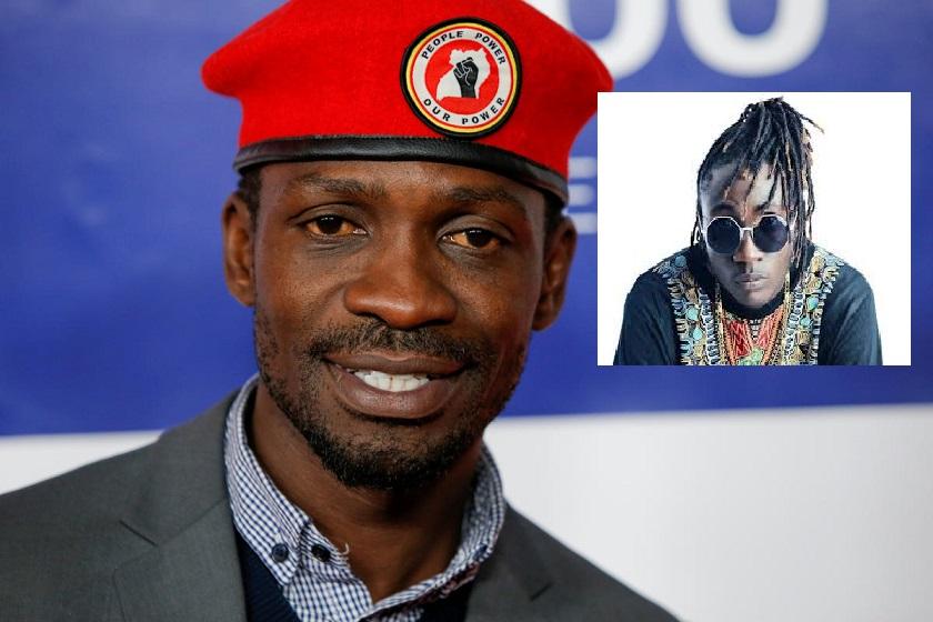 Bobi Wine and Ziza Bafana