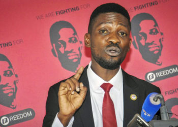 Presidential hopeful Bobi Wine
