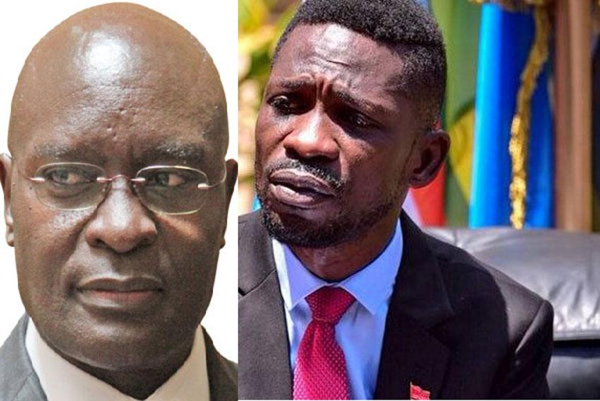 Simon Byabakama and Bobi Wine