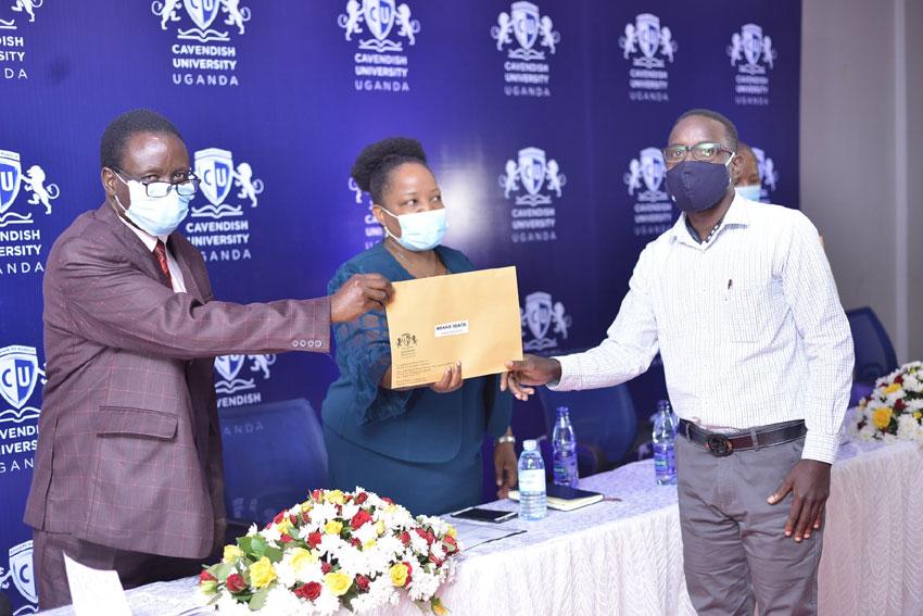 Cavendish University Uganda awards full scholarships to lucky students
