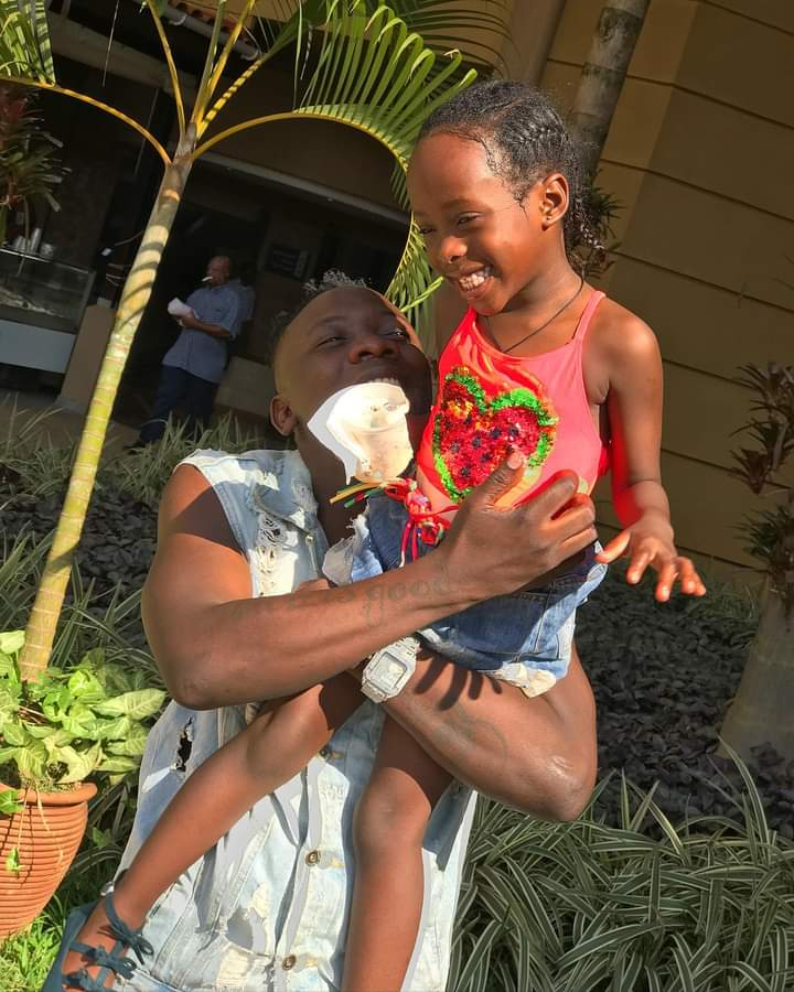 Geosteady and his daughter Sorayah