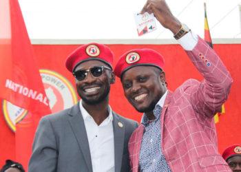 Bobi Wine and Dr Hilderman