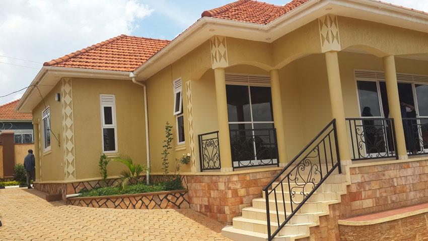 Nice house in Uganda