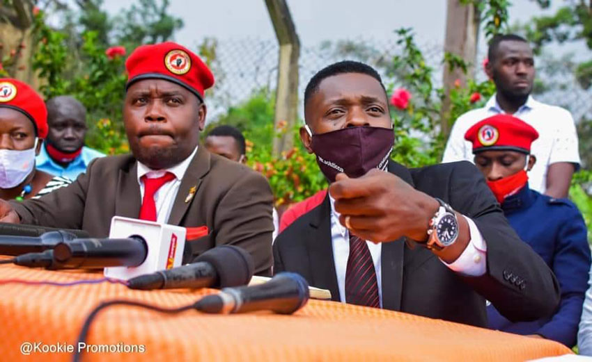 Musician turned politician Jose Chameleone