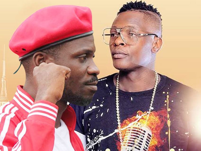 NUP Leader Bobi Wine and Jose Chameleone