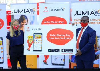 L-R-Iliana-Bjorling-Chief-Marketing-Officer-JUMIA-with-the-Airtel-Money-Head-Merchant-Portfolio-Godfrey-Muhindo-at-the-launch-of-the-partnership