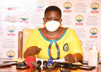 NRM Secretary General Justine Kasule Lumumba