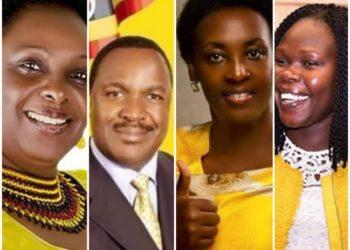 Ministers Karooro, Tumwesigye, Kamukama and Anite