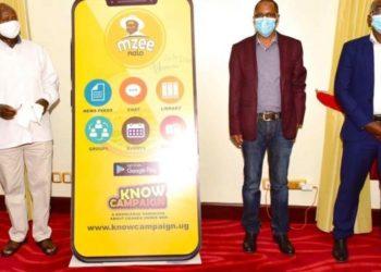 Museveni launching the app on Monday