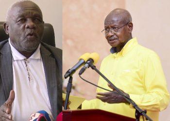 Abdul Nadduli and President Museveni