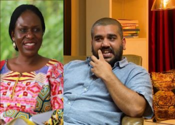 EOC's Sylvia Ntambi and businessman Rajiv Ruparelia