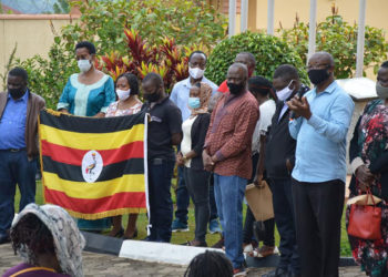 Ugandans being repatriated from Rwanda