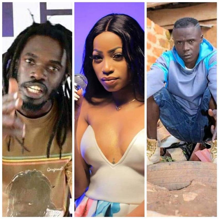 Buchaman, Sheebah Karungi and Rocky Giant