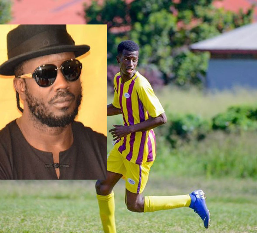 Bebe Cool and son Alpha Thierry Ssali