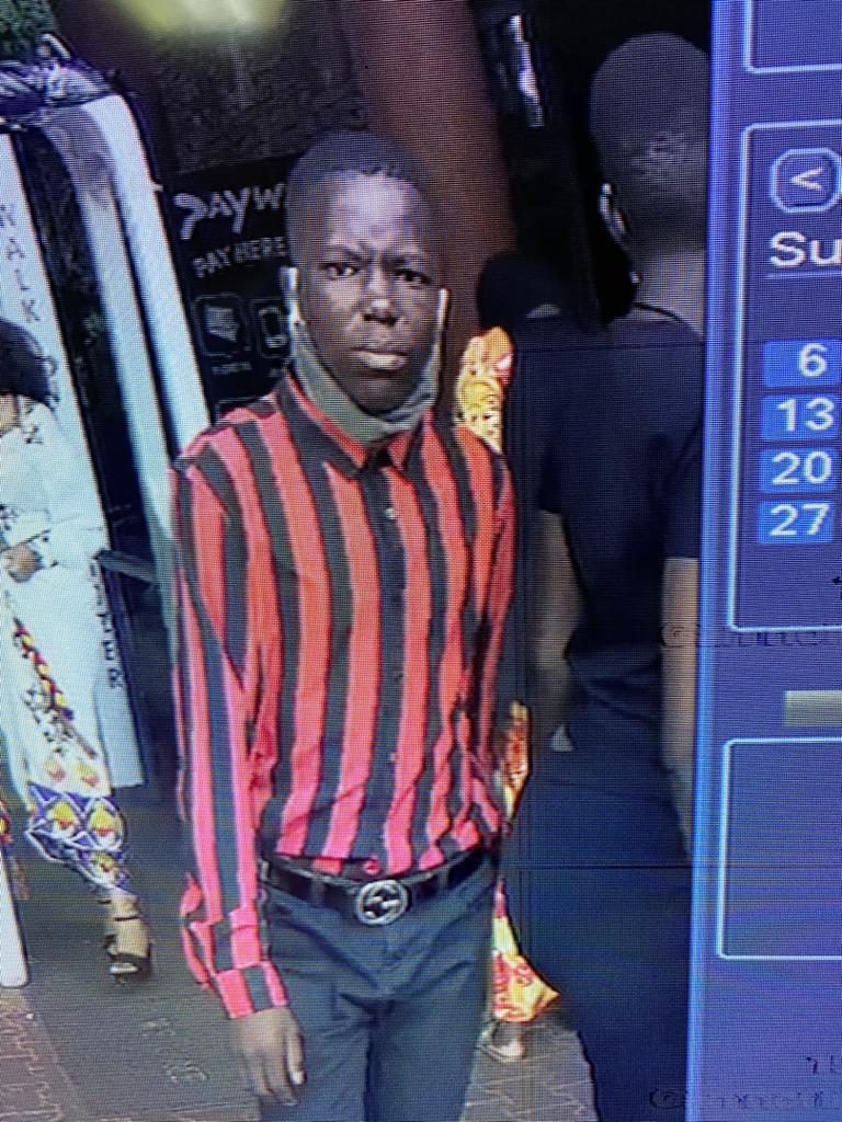 Omuvubuka agambibwa okubba amasimu nga bwafanana mu bifananyi ebyakwatiddwa kkamera e Munyonyo
