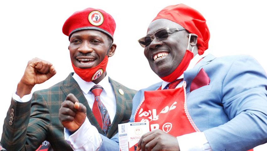 Bobi Wine and MP Sempala Kigozi