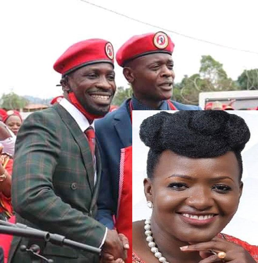 Bobi Wine, Jose Chameleone and Nabilah Sempala