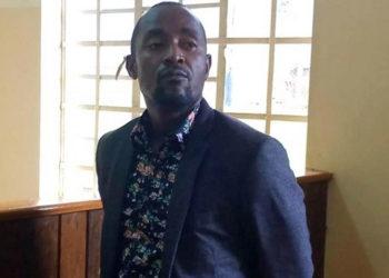 David Katumwa in Court on Friday