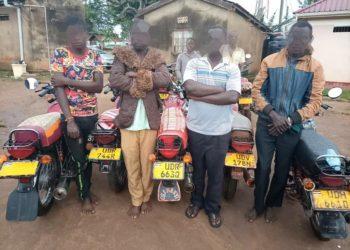 Motorcycle robbers