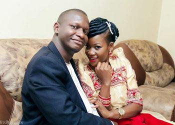 Dr Joel Isabirye with his ex-lover Natie K