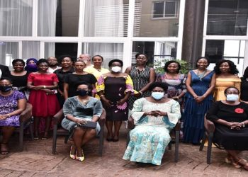 Speaker Kadaga (seated, 2nd Right) with the new ULS executive committee