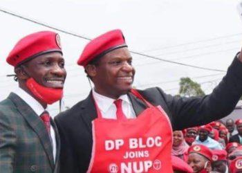 Bobi Wine and Kenneth Kakande