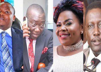 MPs Kibuule, Kato Lubwama, Judith Babirye and Paul Musoke