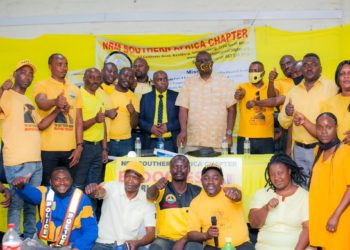NRM Southern Africa Chapter members