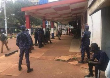 Police raid NUP offices in Jinja