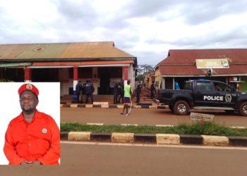 Ekitebe kya NUP poliisi ye Jinja kyekedde okuzinda mu katono ye Saul Nsongambi omu ku bakulembeze ba NUP akwatiddwa