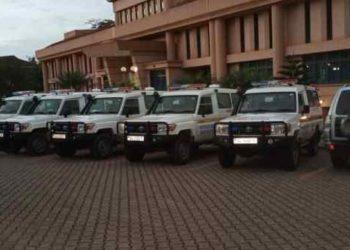 Ministry of Health ambulances