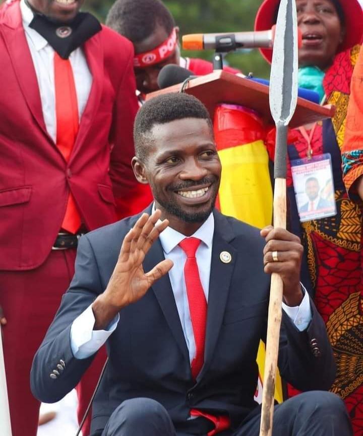 Bobi Wine at Kakyeeka Stadium in Mbarara City