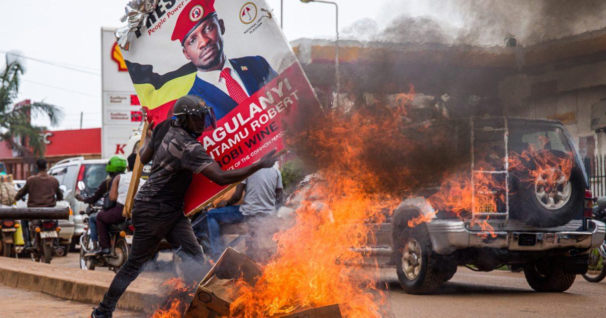 Free Bobi Wine protest