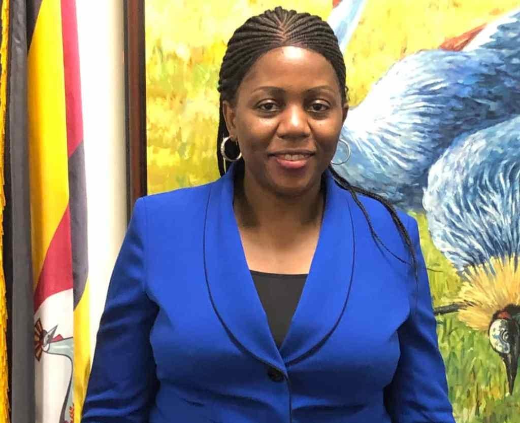 Caroline Nalwanga Magamboa Counsellor serving at Uganda's Permanent Mission to the UN