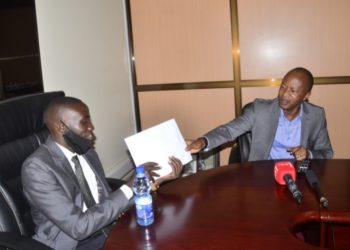 Frank Gashumba and John Katumba