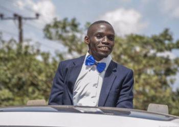 Presidential candidate John Katumba