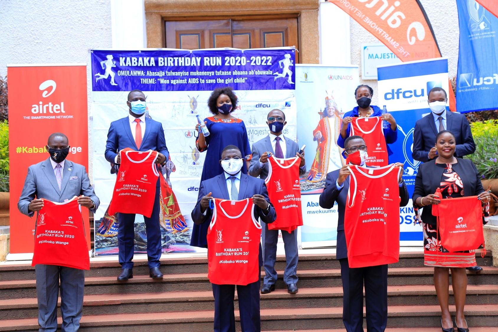 Launch of Virtual Kabaka birthday run