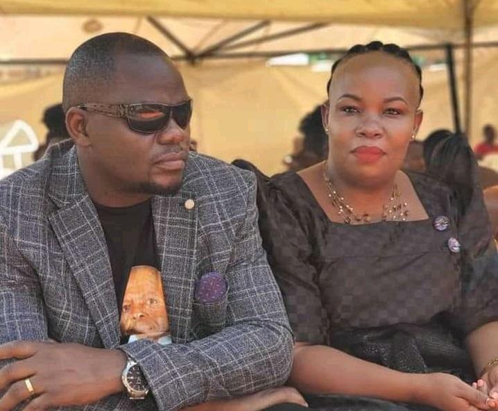 Mama Fiina with lover Prince Kimera
