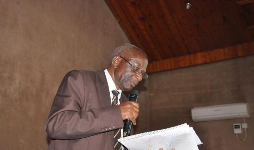 Ntungamo District LC 5 Chairperson Denis Singahache