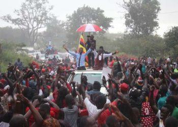 Bobi Wine in Arua