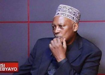 The late Dr Anas Kaliisa
